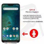 General Mobile GM 8 Mikrofon Değişimi