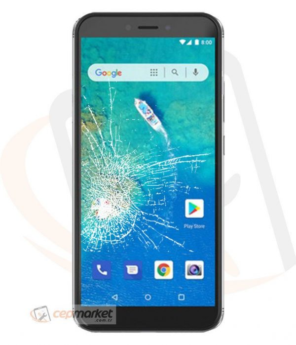 General Mobile GM8 Go Ekran Değişimi