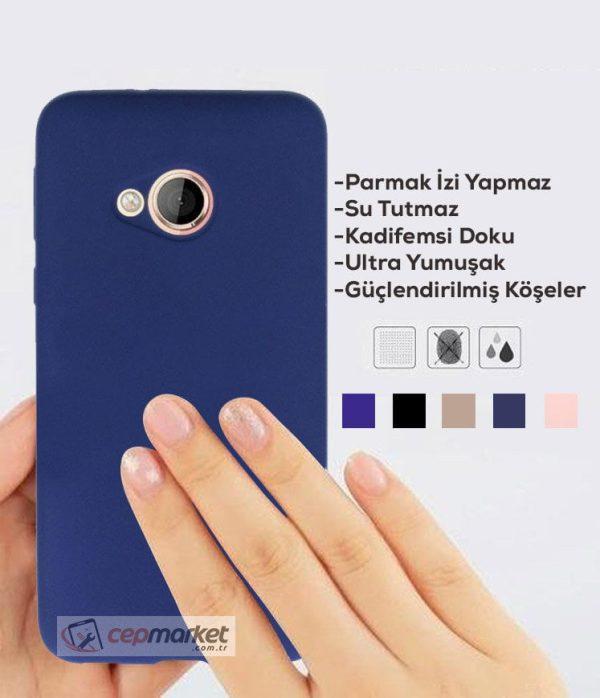 HTC Premium Silikon Kılıf