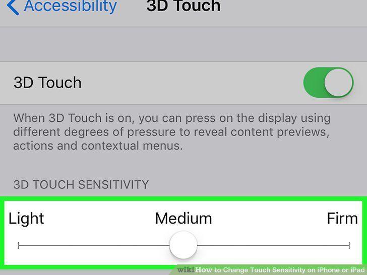 iPhone Dokunmatik Ekran Hassasiyeti Ayarı