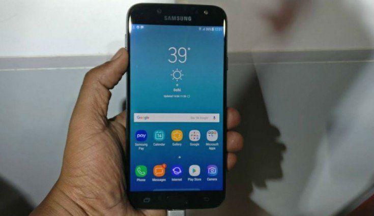 Samsung J7 Pro Güncelleme Sonrası Ekran Sorunu
