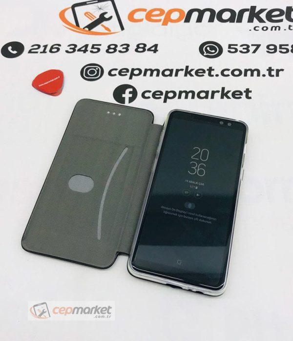 Samsung A8 2018 Caseman URBAN Kapaklı Kılıf