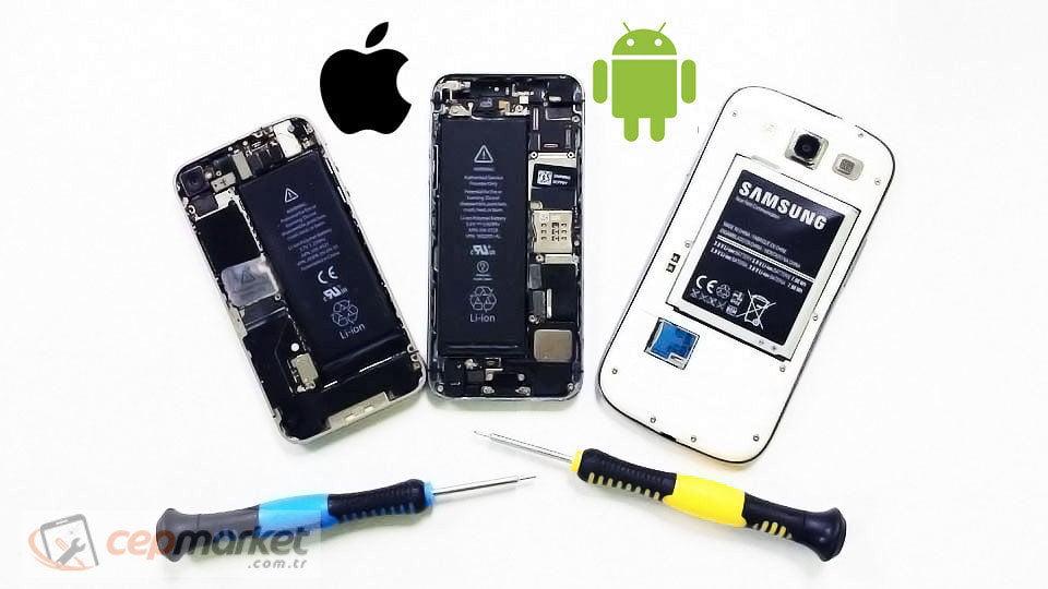 Köşe ya da Tam Kırılan Telefon Ekranı İçin Uzmanlara Onarım Yaptırma