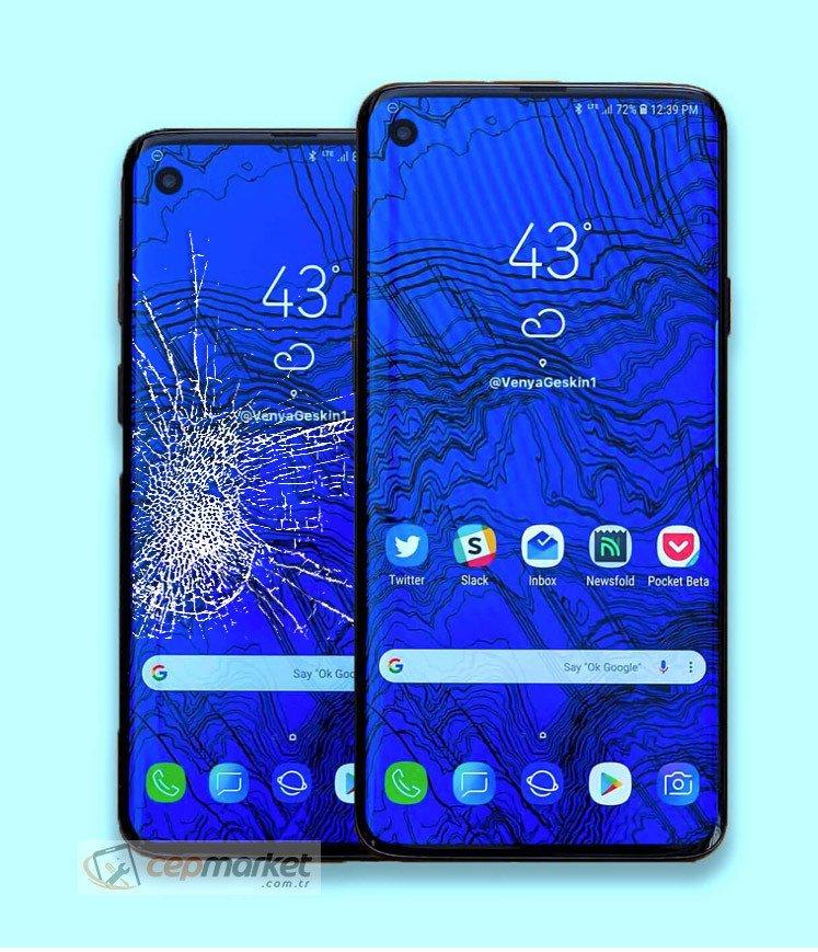 Samsung Galaxy S10 Plus Ekran Değişimi