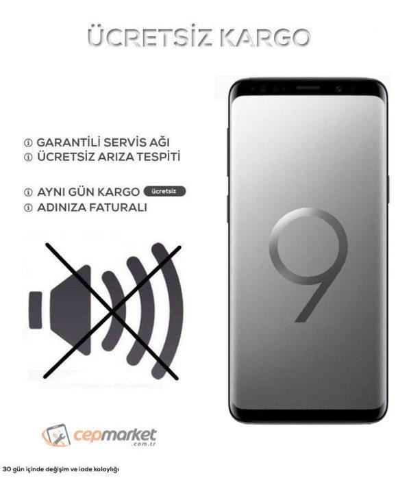 Samsung Galaxy S9 Plus Ses Gelmiyor Gitmiyor Çözüm ve Tamiri