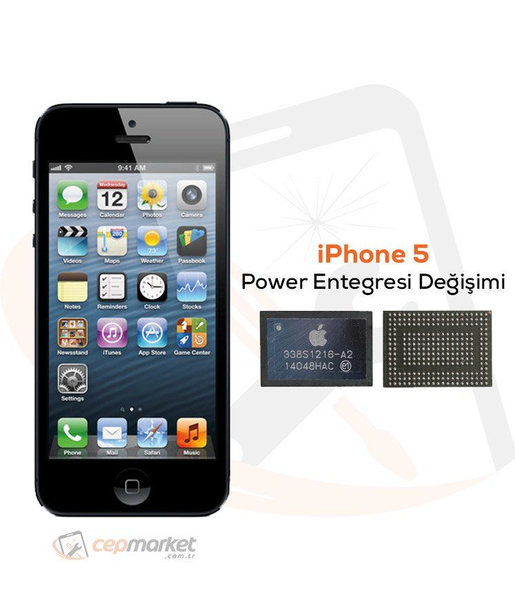 iPhone 5 Power Entegresi Değişimi