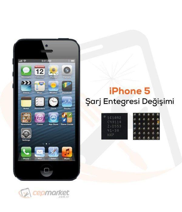 iPhone 5 Şarj Entegresi Değişimi