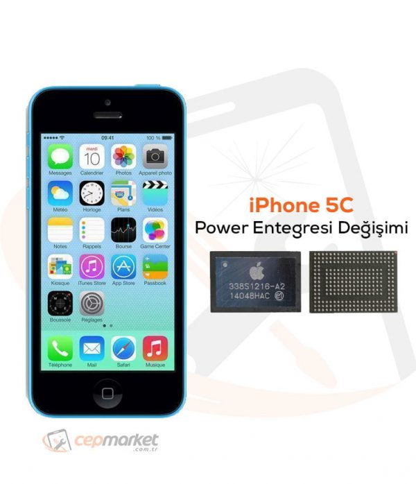 iPhone 5C Power Entegresi Değişimi