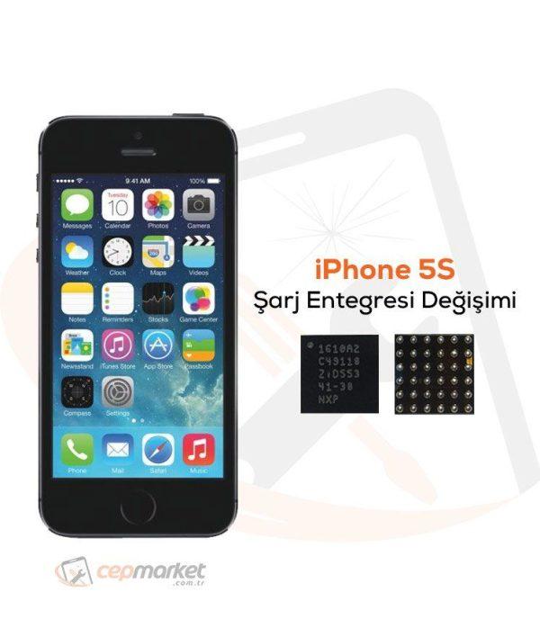 iPhone 5S Şarj Entegresi Değişimi