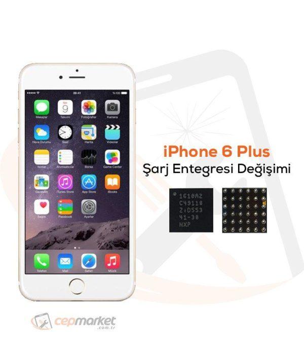 iPhone 6 Plus Şarj Entegresi Değişimi