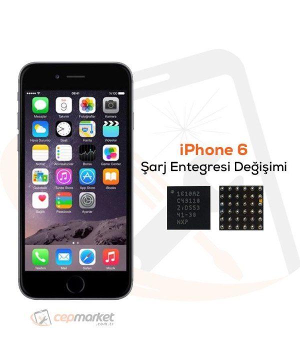 iPhone 6 Şarj Entegresi Değişimi