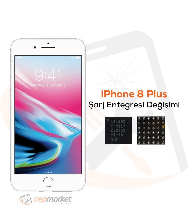 iPhone 8 Plus Şarj Entegresi Değişimi
