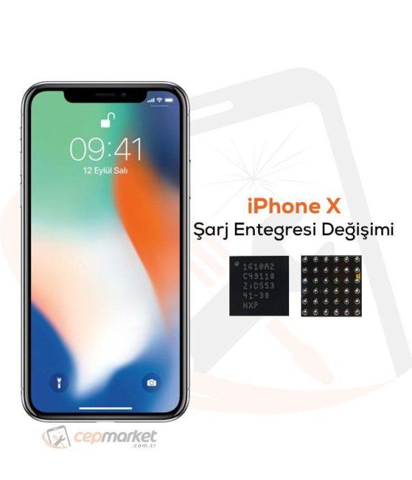 iPhone X Şarj Entegresi Değişimi