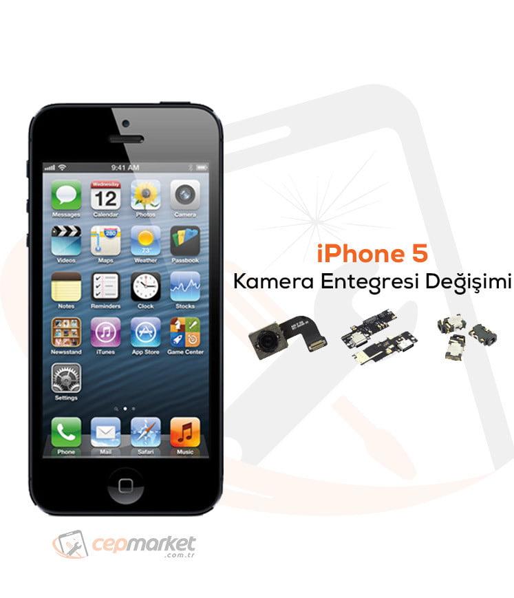iPhone 5 Kamera Entegresi Değişimi
