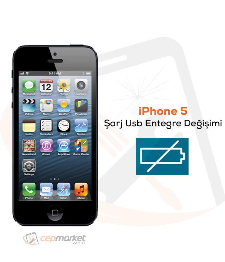 iPhone 5 Şarj Usb Entegre Değişimi