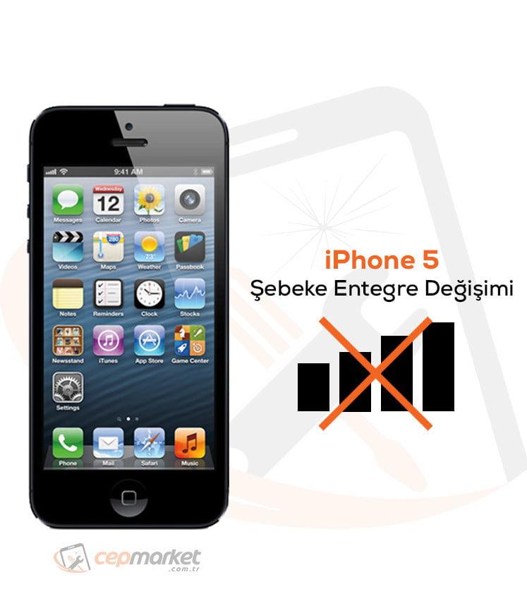 iPhone 5 Şebeke Entegre Değişimi