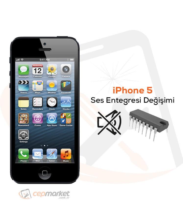 iPhone 5 Ses Entegresi Değişimi