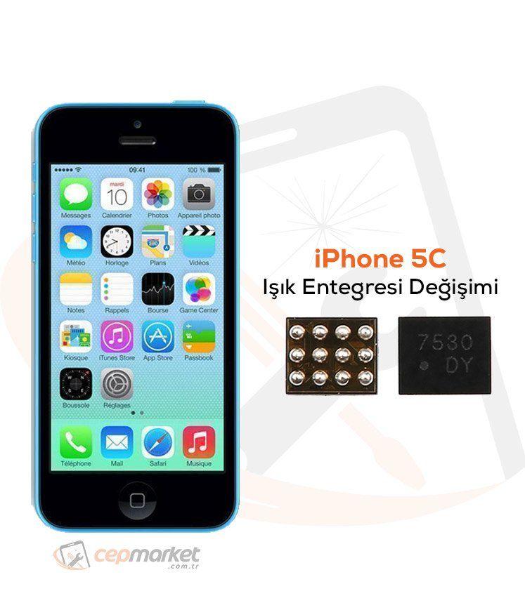 iPhone 5C Işık Entegresi Değişimi