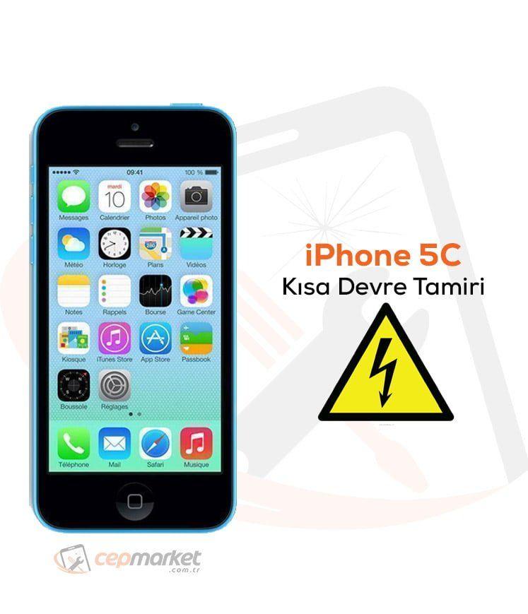 iPhone 5C Kısa Devre Tamiri