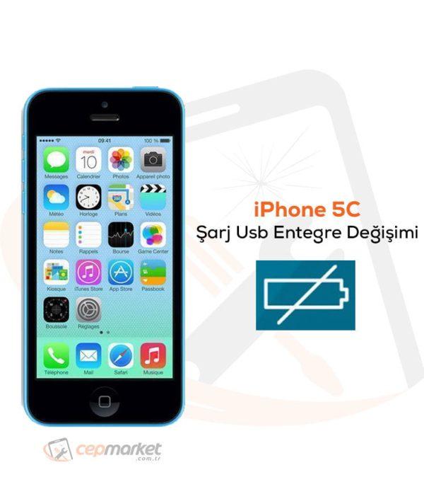 iPhone 5C Şarj Usb Entegre Değişimi