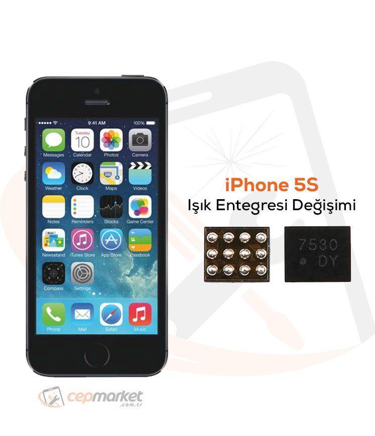 iPhone 5S Işık Entegresi Değişimi