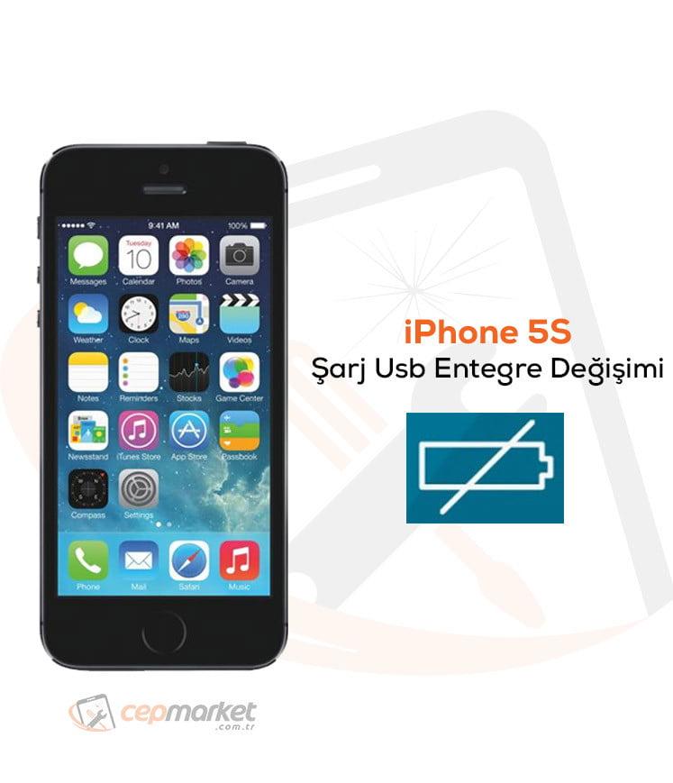 iPhone 5S Şarj Usb Entegre Değişimi