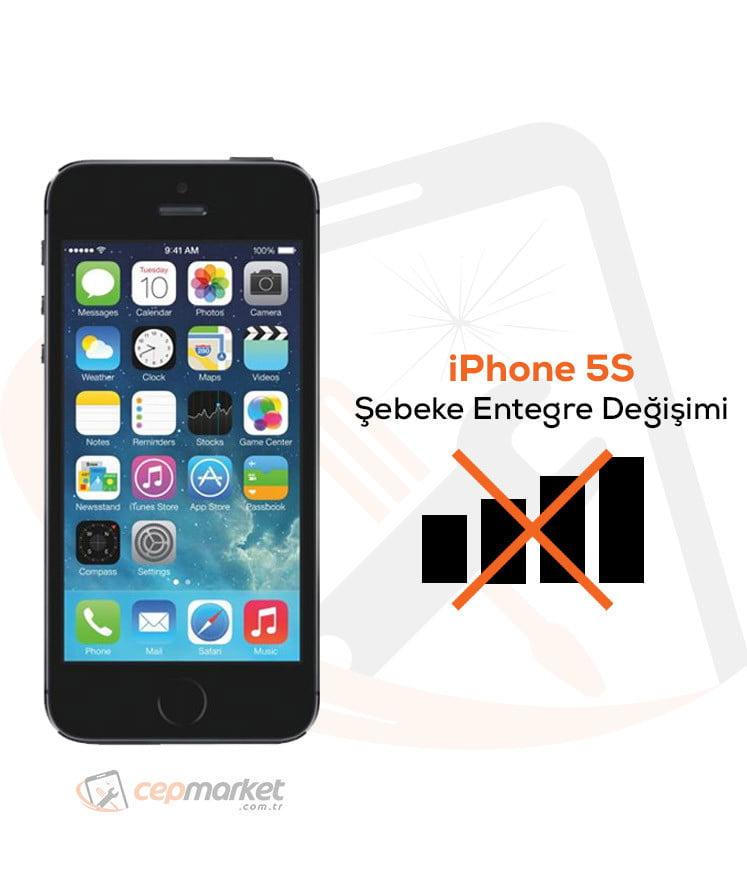 iPhone 5S Şebeke Entegre Değişimi