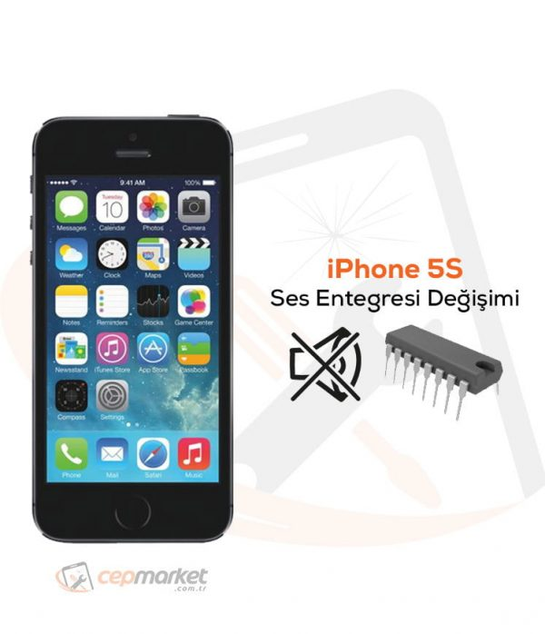 iPhone 5S Ses Entegresi Değişimi