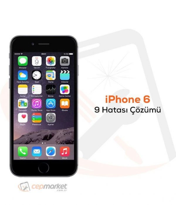 iPhone 6 9 Hatası Çözümü
