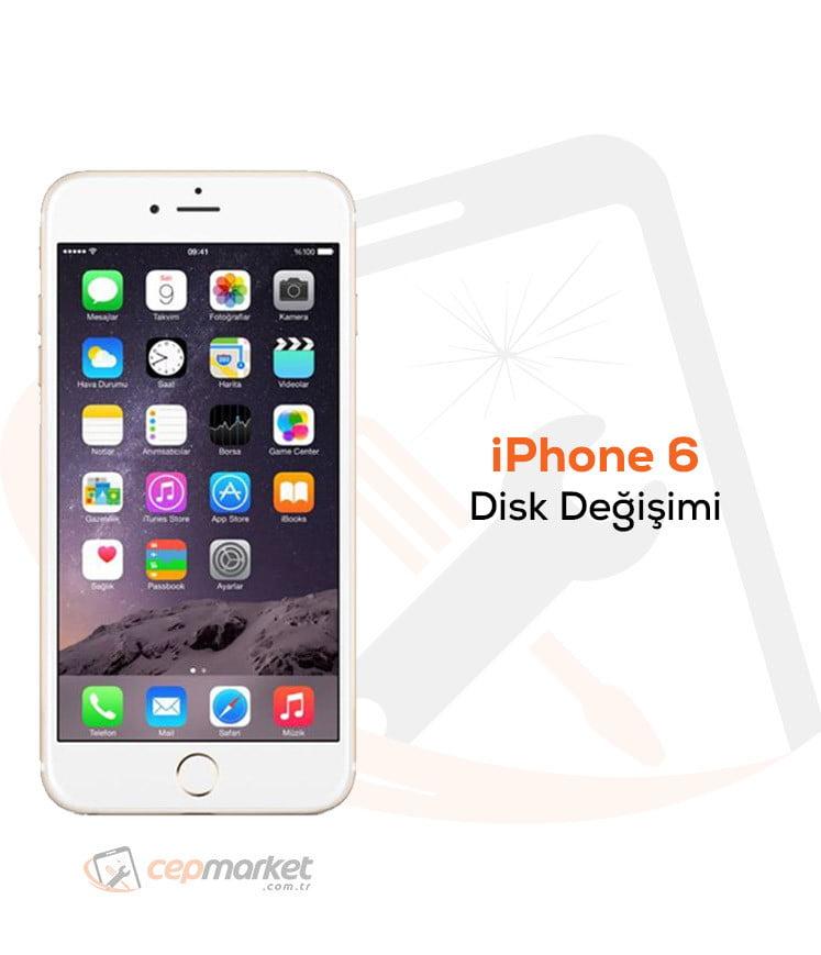 iPhone 6 Disk Değişimi