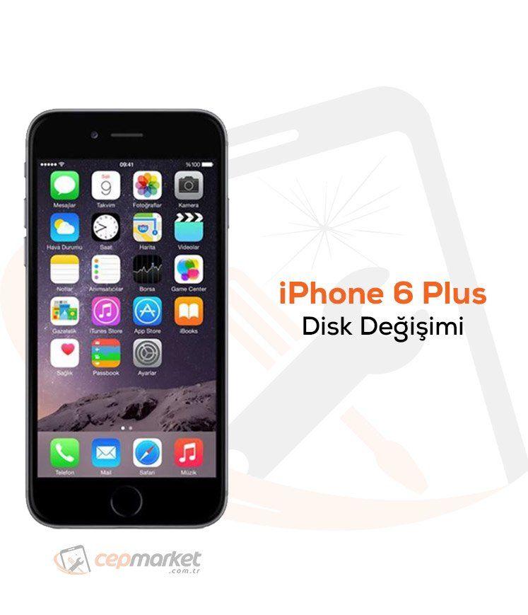 iPhone 6 Plus Disk Değişimi