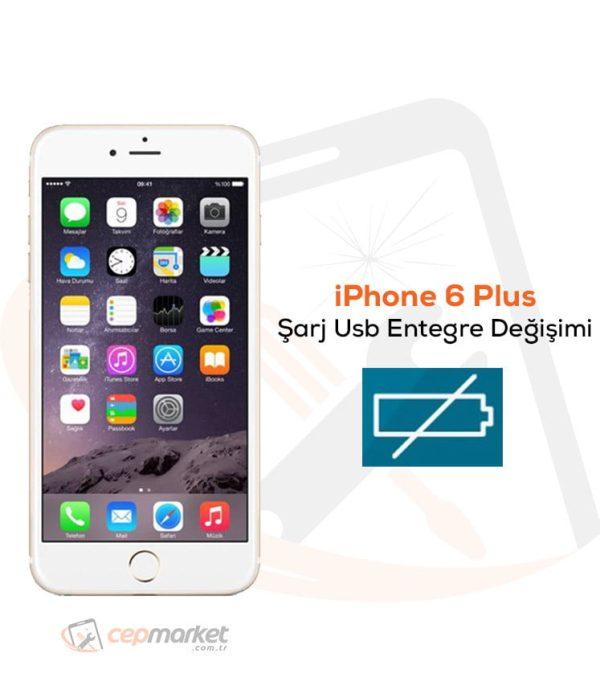 iPhone 6 Plus Şarj Usb Entegre Değişimi