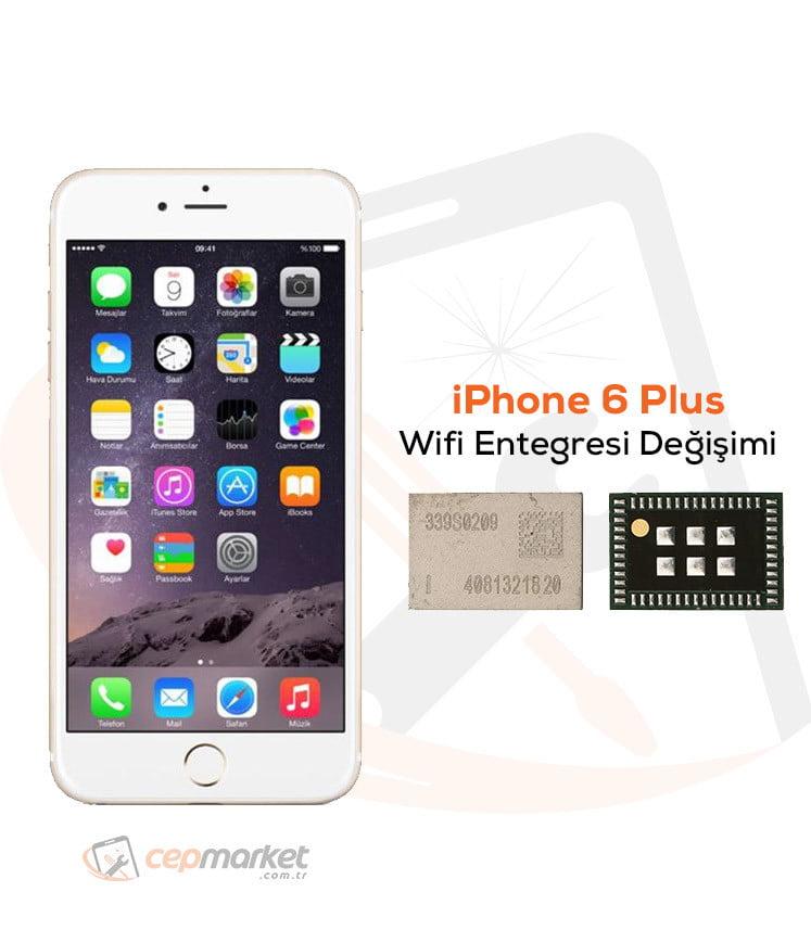 iPhone 6 Plus Wifi Entegresi Değişimi
