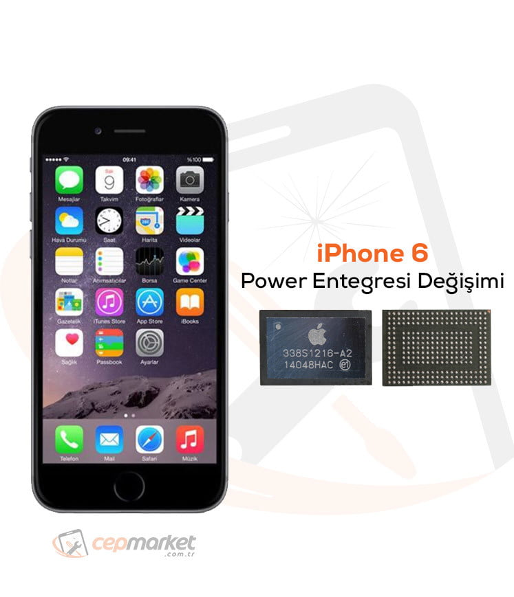 iPhone 6 Power Entegresi Değişimi