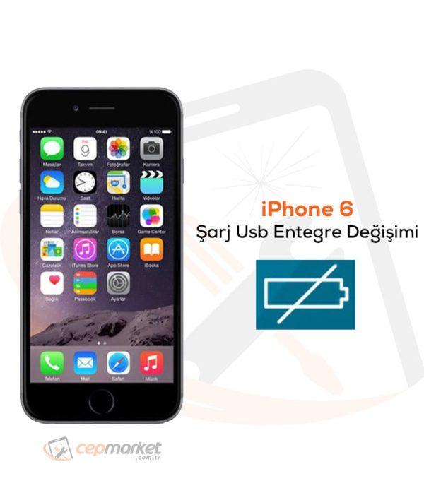 iPhone 6 Şarj Usb Entegre Değişimi