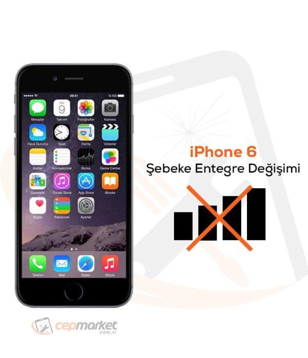 iPhone 6 Şebeke Entegre Değişimi