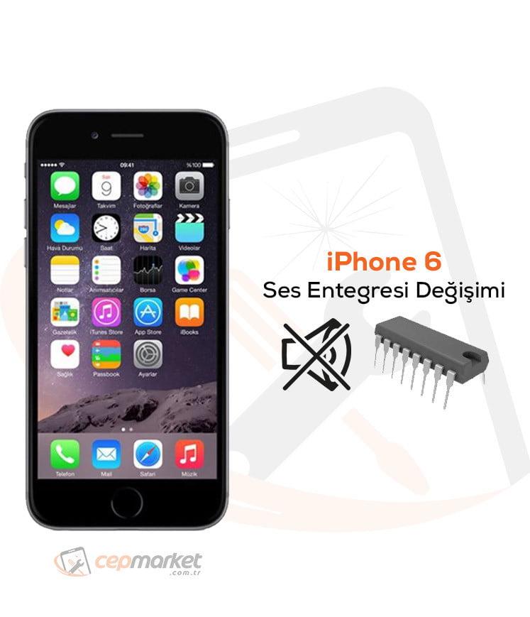 iPhone 6 Ses Entegresi Değişimi