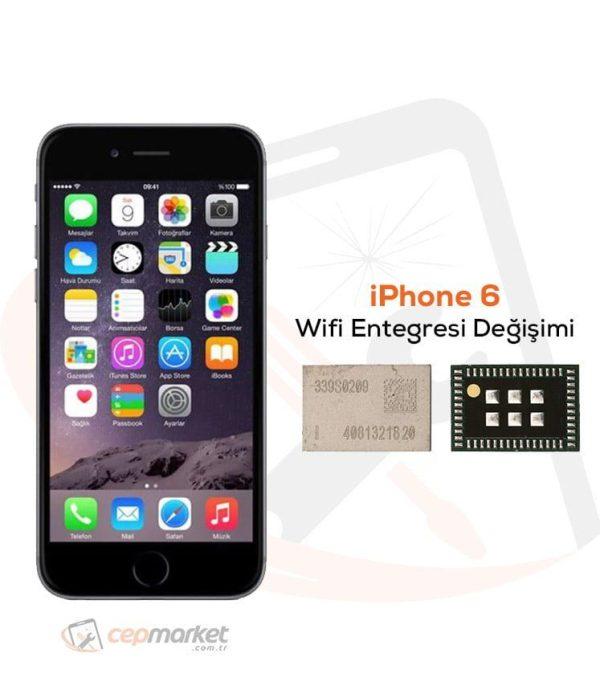 iPhone 6 Wifi Entegresi Değişimi