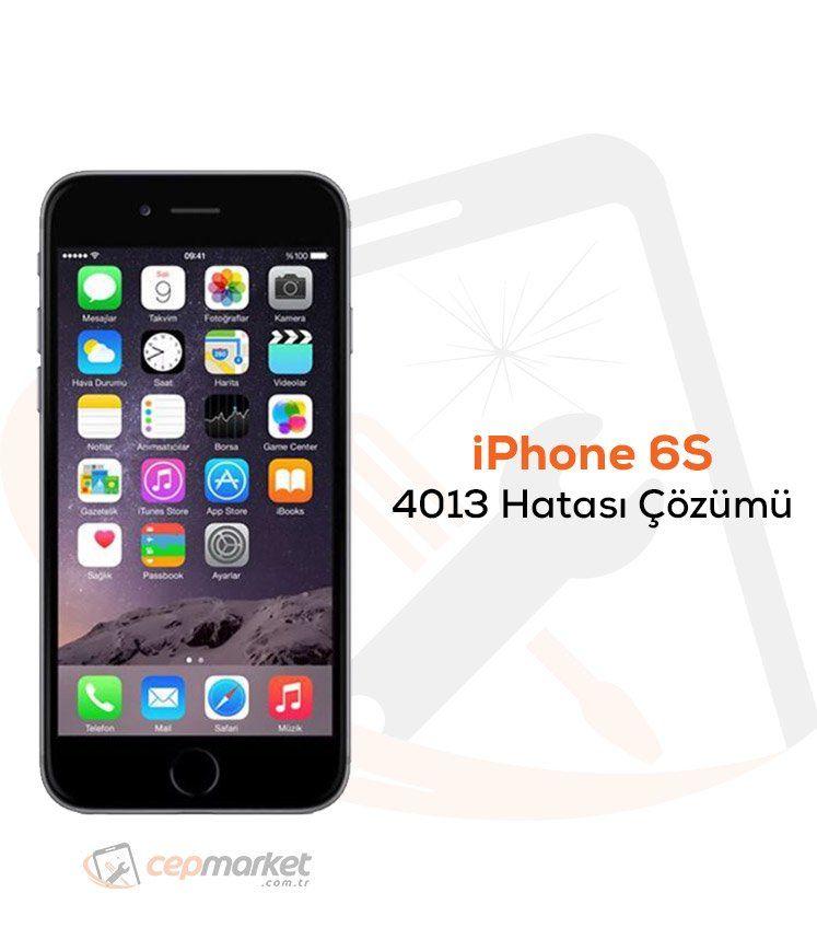 iPhone 6S 4013 Hatası Çözümü