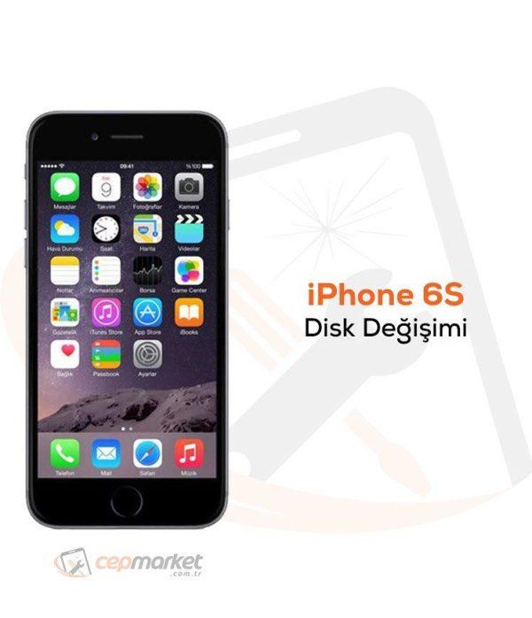 iPhone 6S Disk Değişimi