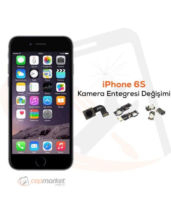 iPhone 6S Kamera Entegresi Değişimi
