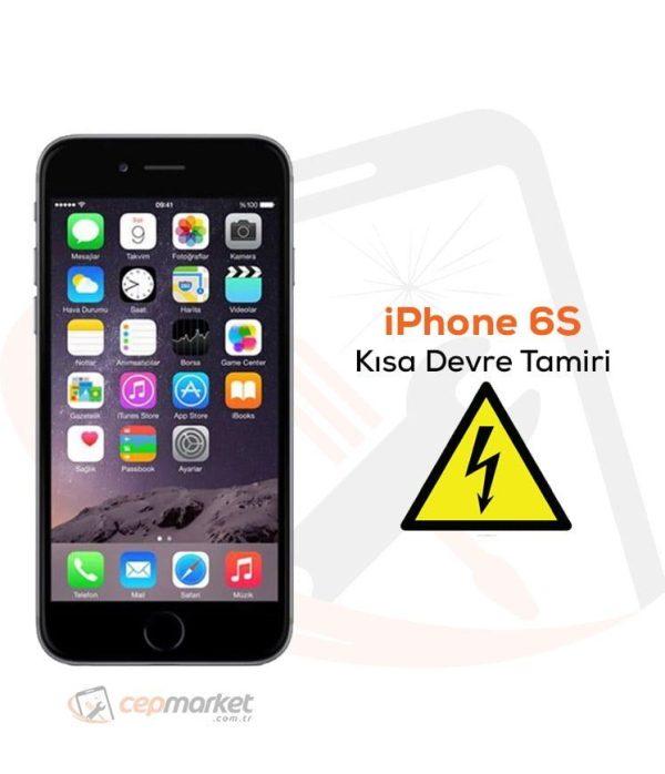 iPhone 6S Kısa Devre Tamiri