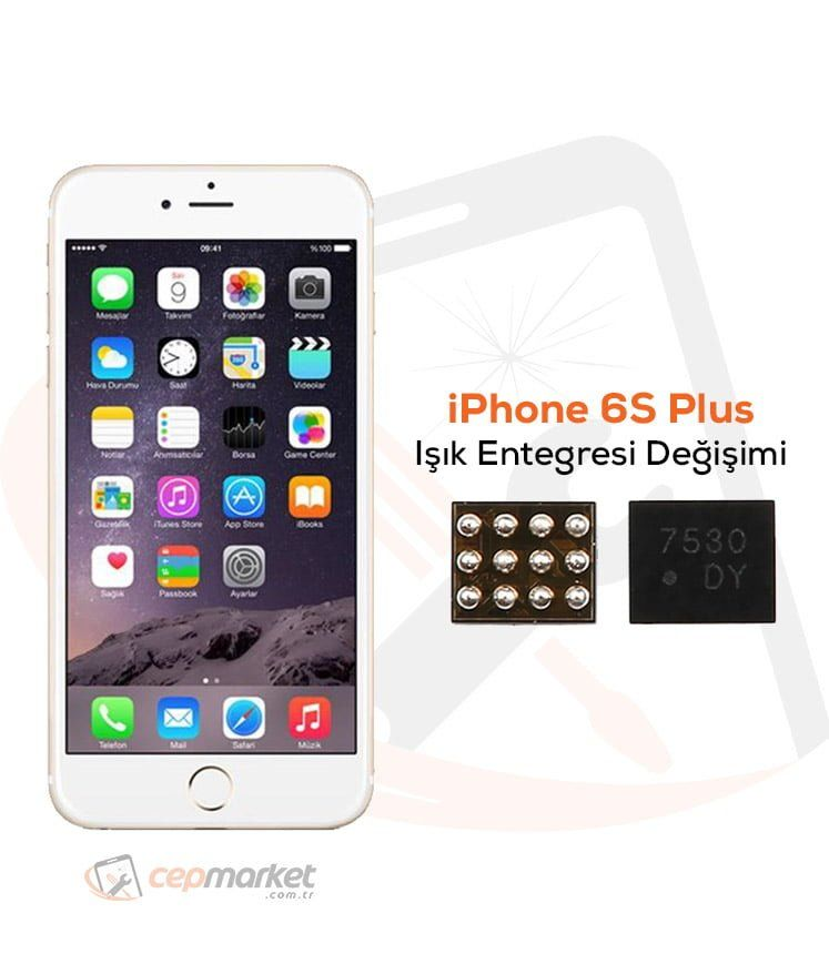 iPhone 6S Plus Işık Entegresi Değişimi