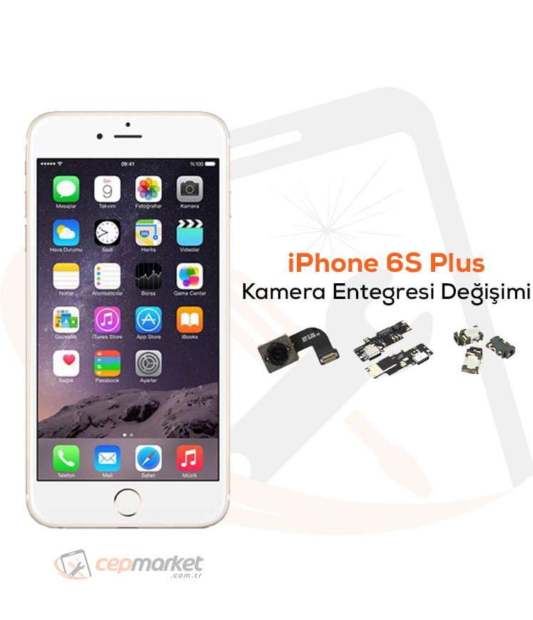iPhone 6S Plus Kamera Entegresi Değişimi