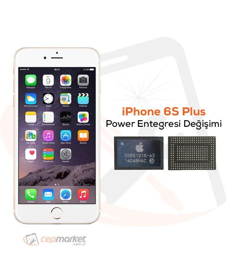 iPhone 6S Plus Power Entegresi Değişimi