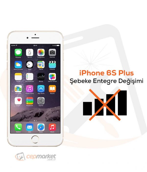 iPhone 6S Plus Şebeke Entegre Değişimi