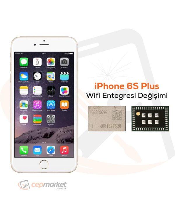 iPhone 6S Plus Wifi Entegresi Değişimi