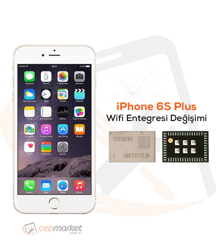 iPhone 6S Plus Wifi Entegresi Değişimi