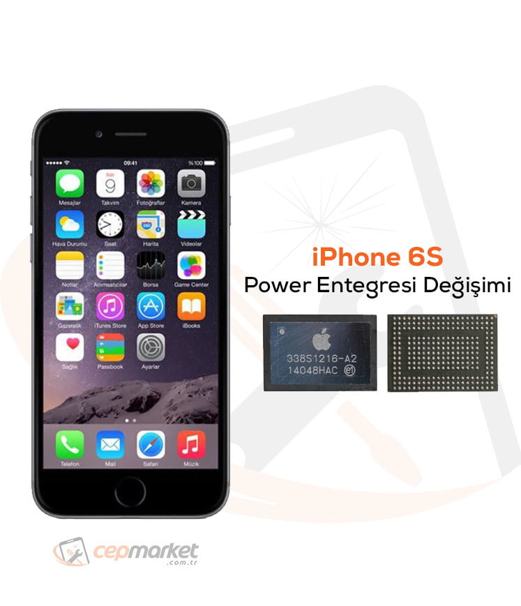 iPhone 6S Power Entegresi Değişimi