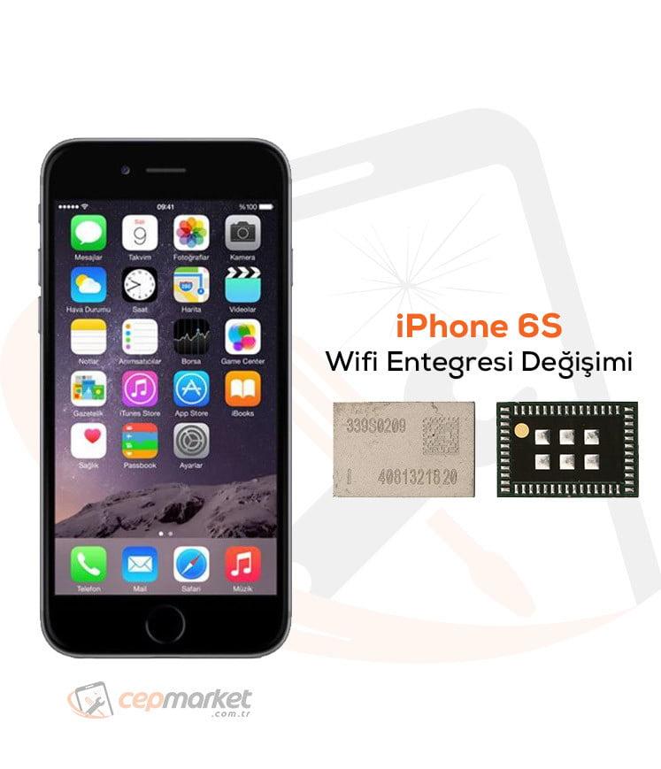 iPhone 6S Wifi Entegresi Değişimi